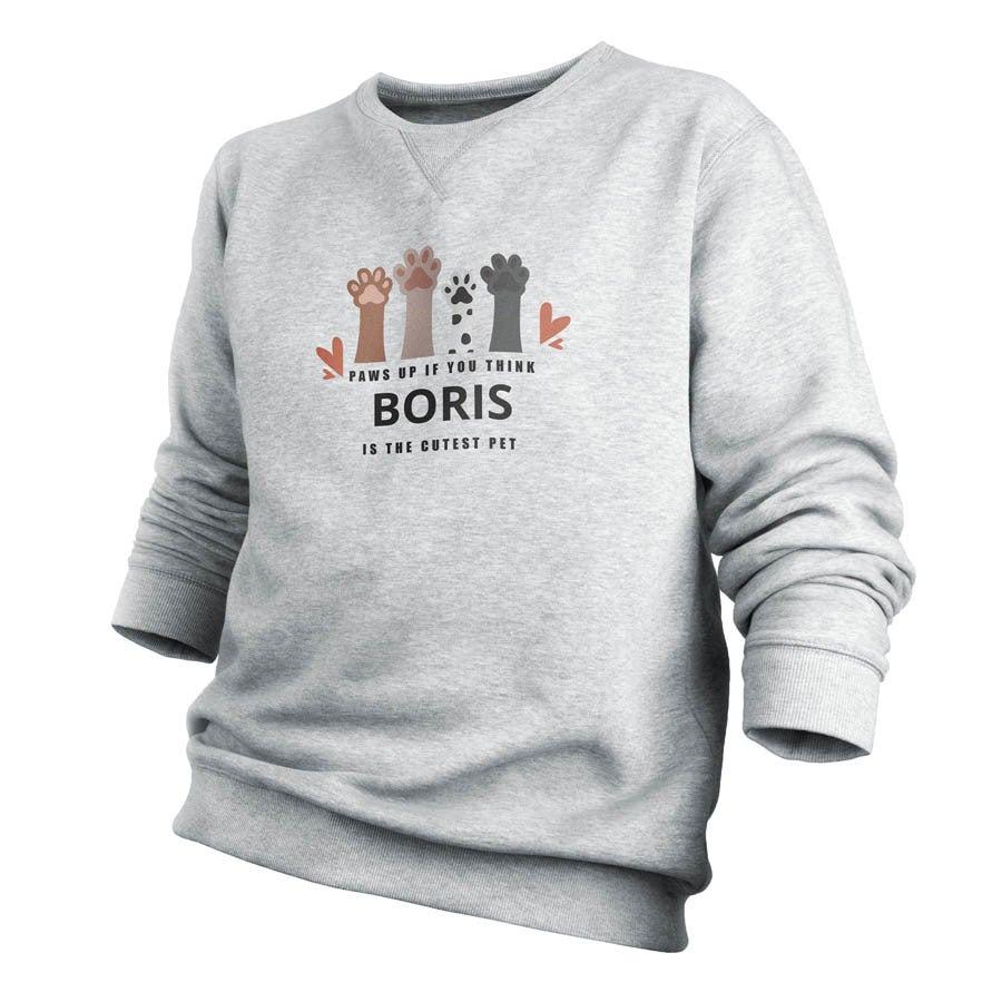 Sweatshirt - Men - Grey - S