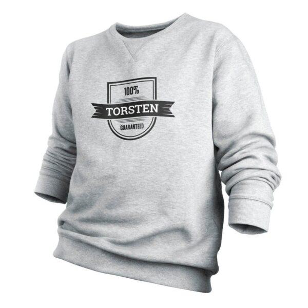 Sweatshirt - Men - Grey - XXL