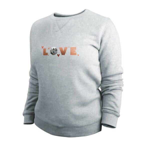 Sweatshirt - Women - Grey - S