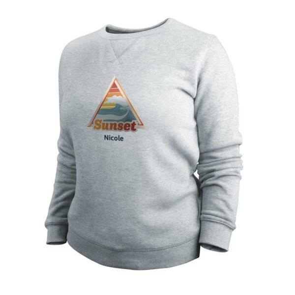 Sweatshirt - Women - Grey - XL