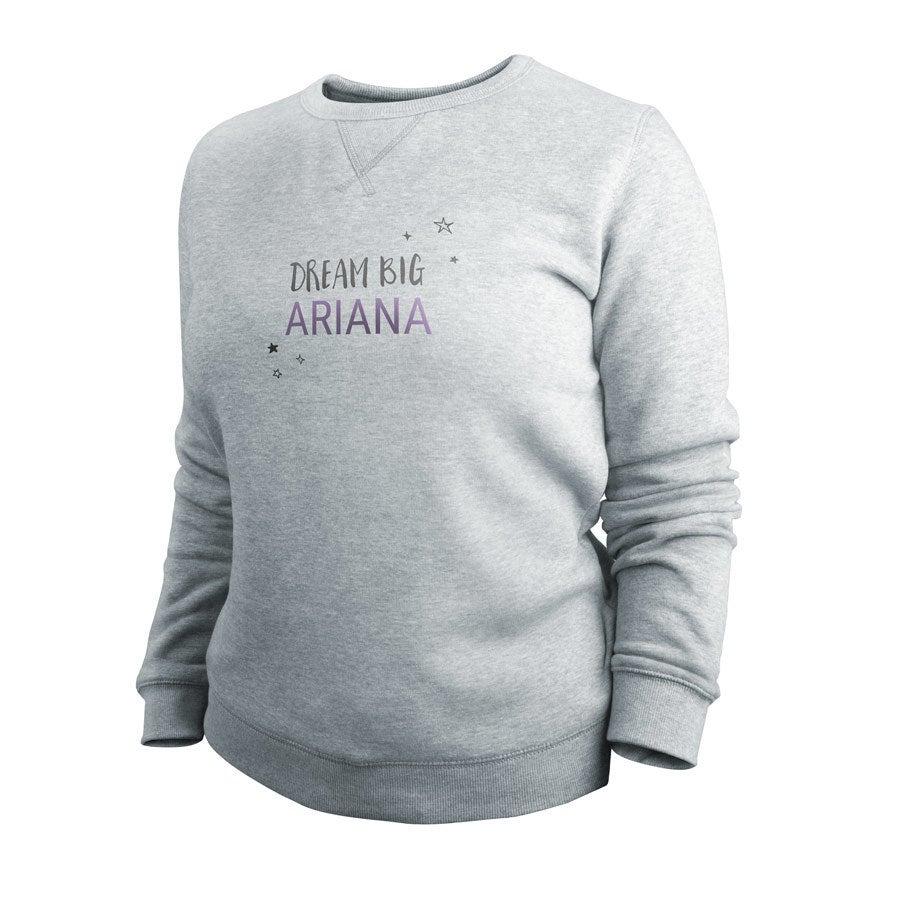 Sweatshirt - Women - Grey - XXL