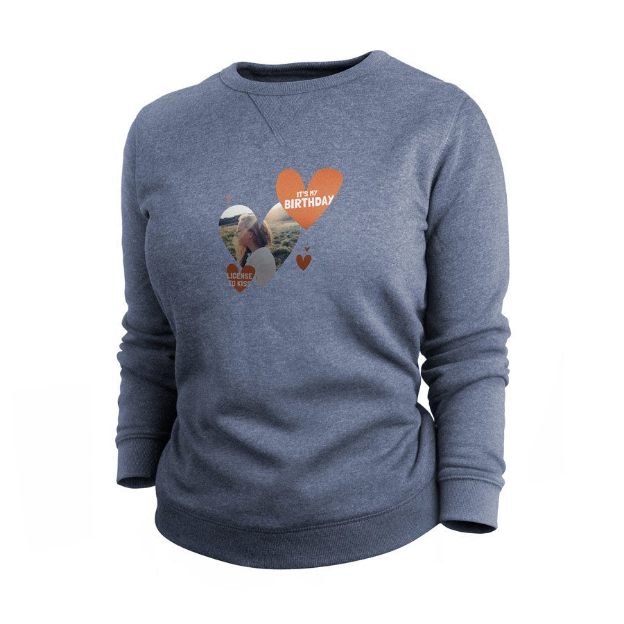 Sweatshirt - Women - Indigo - M