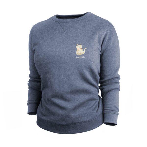 Sweatshirt - Women - Indigo - S