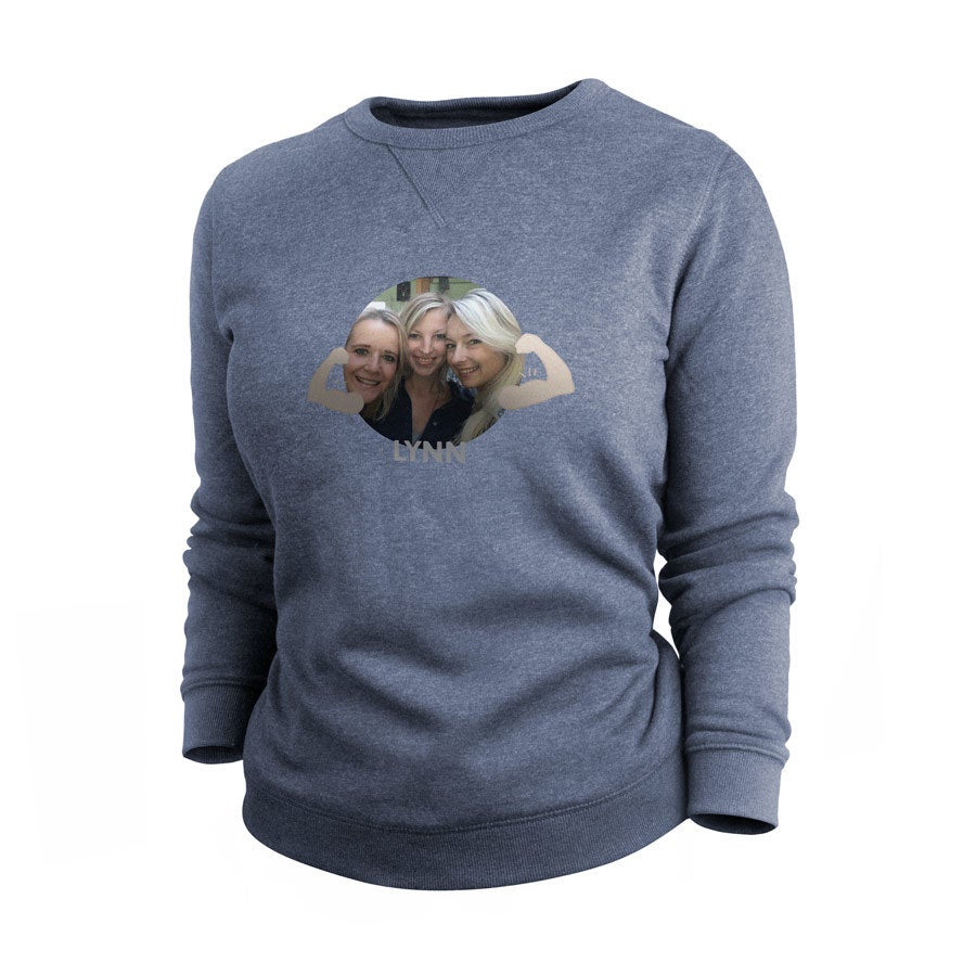 Sweatshirt - Women - Indigo - XL