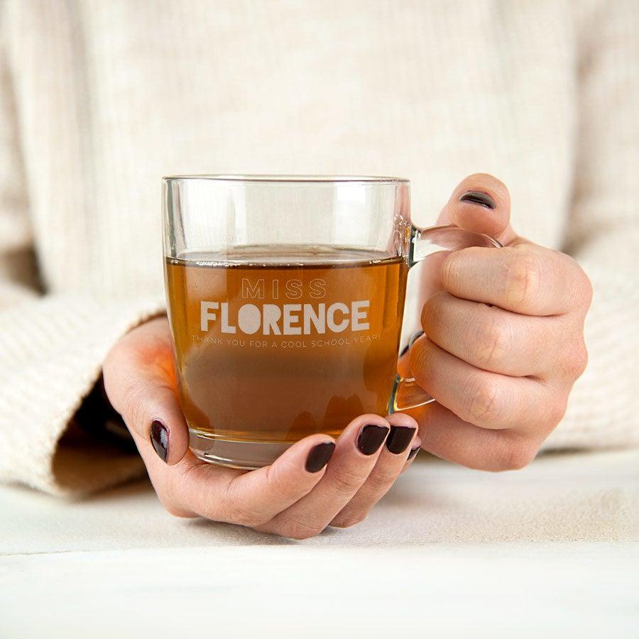 Tea glass for Teachers