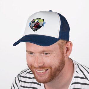 Trucker cap - Blue/white