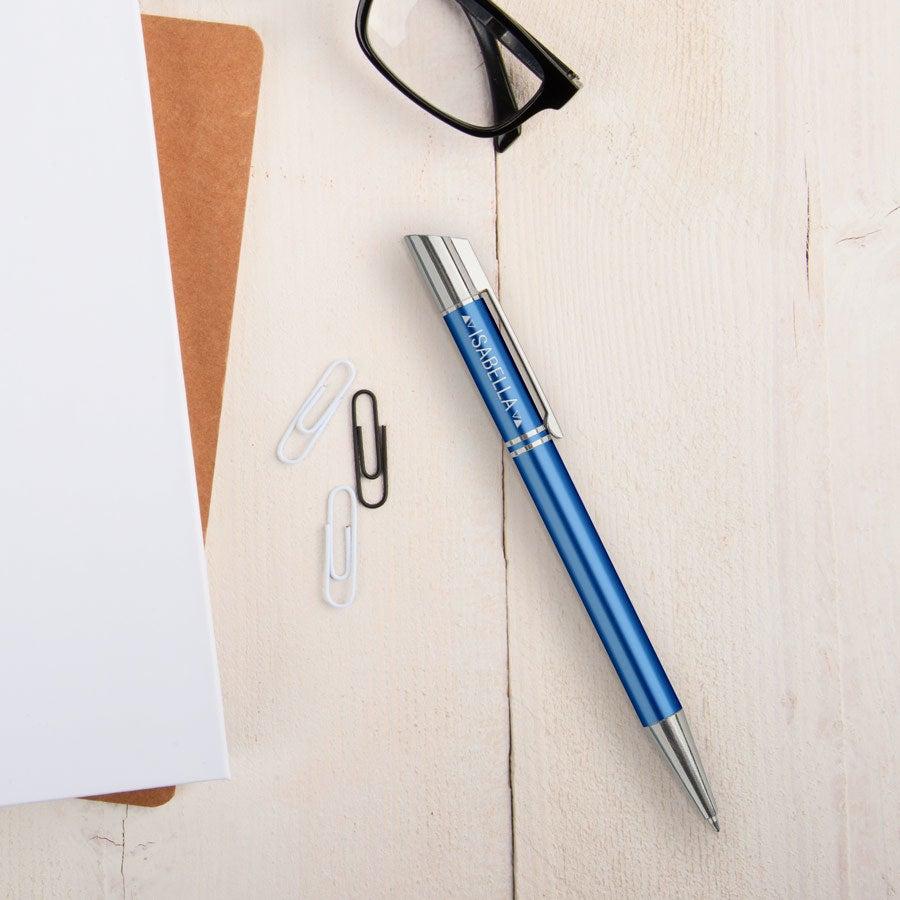 Viva Pens - Tess - engraved ballpoint pen - Blue (left-handed)