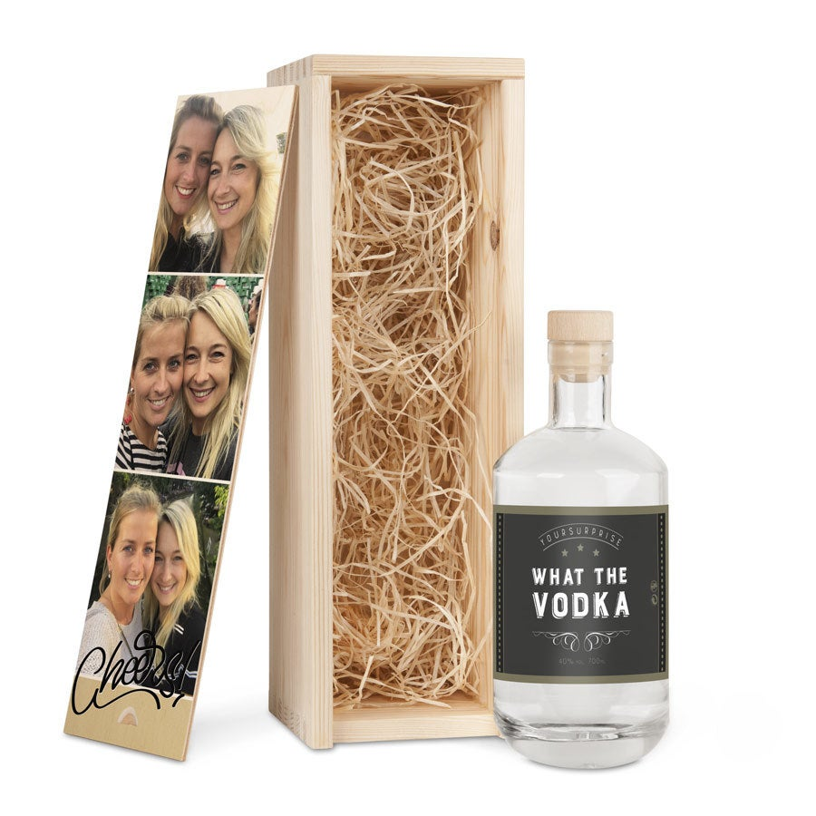 Vodka in printed case - YourSurprise own brand