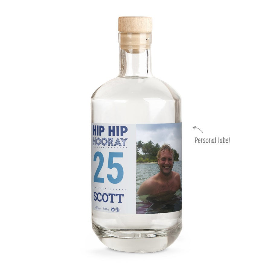 Vodka with printed label - YourSurprise own brand