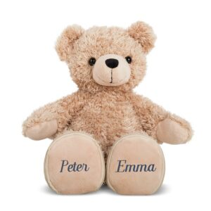 Wedding bear with name