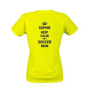 Women's sports t-shirt - Yellow - S