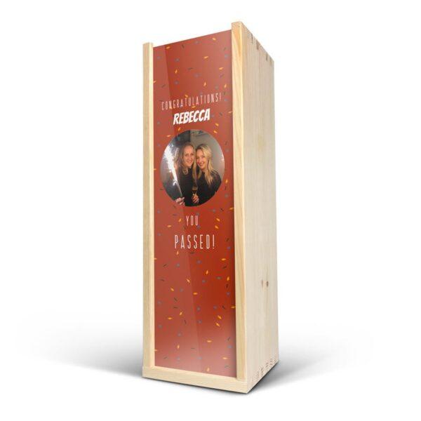 Wooden case - Deluxe