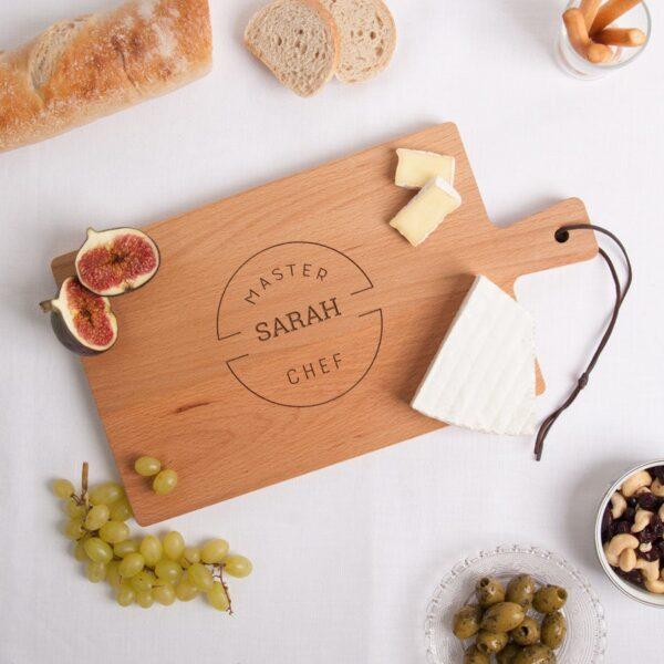 Wooden serving platter - Beech wood - Rectangular - Landscape (M)