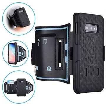2-in-1 Detachable Samsung Galaxy S10e Armband - Black