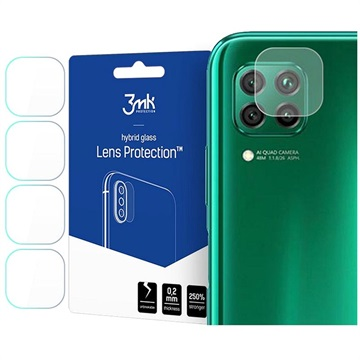 3MK Hybrid Huawei P40 Lite Camera Lens Protector - 4 Pcs.