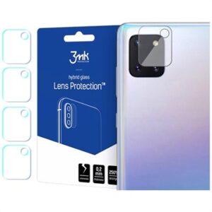 3MK Hybrid Samsung Galaxy Note10 Lite Camera Lens Protector - 4 Pcs.