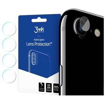 3MK Hybrid iPhone 7/8/SE (2020) Camera Lens Protector - 4 Pcs.