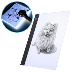 Acrylic LED Drawing / Stencil Board - A4, 235x330mm