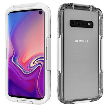 Active Series IP68 Samsung Galaxy S10 Waterproof Case - White