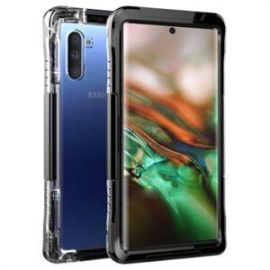 Active Series Samsung Galaxy Note10 Waterproof Case - Black
