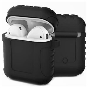 AirPods / AirPods 2 Silicone Case - Shockproof Armor - Black