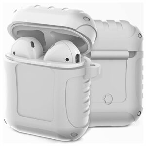 AirPods / AirPods 2 Silicone Case - Shockproof Armor - White