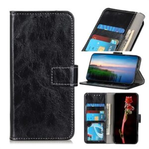 Alcatel 1SE (2020) Wallet Case with Magnetic Closure - Black