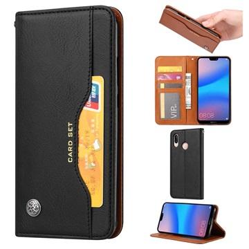Card Set Series Huawei P30 Lite Wallet Case - Black