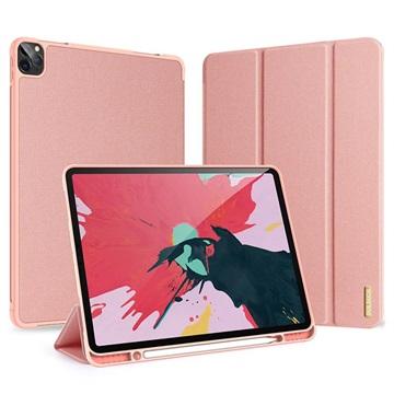 Dux Ducis Domo iPad Pro 12.9 (2020) Flip Case - Rose Gold