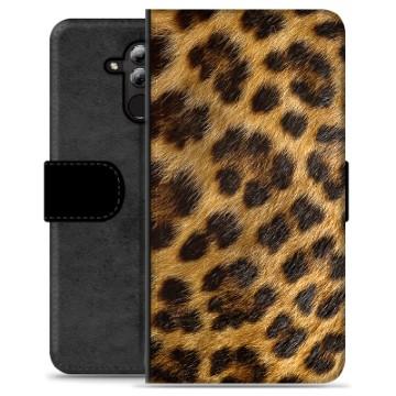 Huawei Mate 20 Lite Premium Wallet Case - Leopard