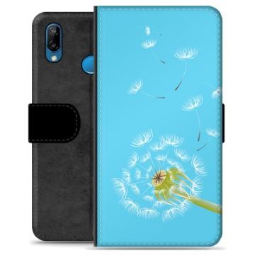 Huawei P20 Lite Premium Wallet Case - Dandelion