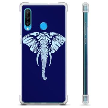 Huawei P30 Lite Hybrid Case - Elephant