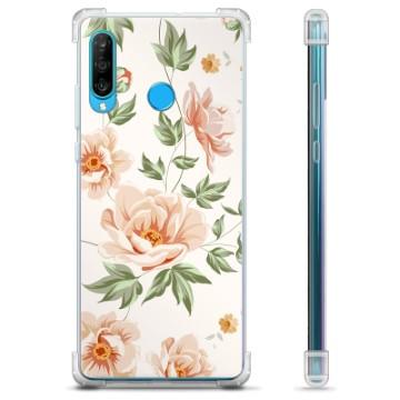 Huawei P30 Lite Hybrid Case - Floral