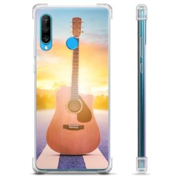 Huawei P30 Lite Hybrid Case - Guitar