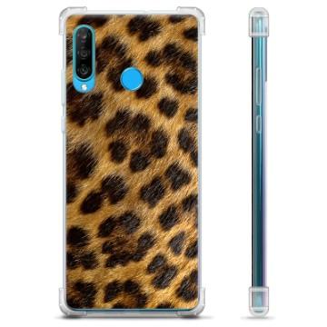 Huawei P30 Lite Hybrid Case - Leopard