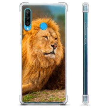 Huawei P30 Lite Hybrid Case - Lion