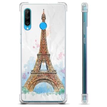 Huawei P30 Lite Hybrid Case - Paris