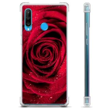Huawei P30 Lite Hybrid Case - Rose
