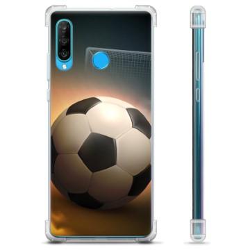 Huawei P30 Lite Hybrid Case - Soccer