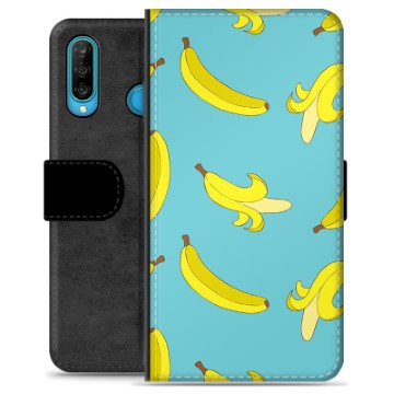 Huawei P30 Lite Premium Wallet Case - Bananas