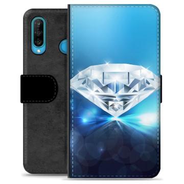 Huawei P30 Lite Premium Wallet Case - Diamond