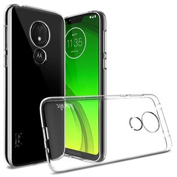 Imak UX-5 Series Motorola Moto G7 Power TPU Case - Transparent
