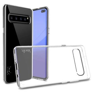 Imak UX-5 Series Samsung Galaxy S10 5G TPU Case - Transparent