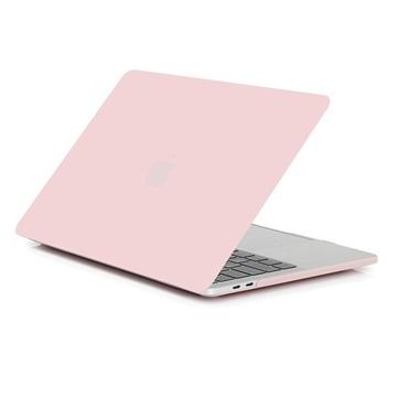 MacBook Air 13.3 2018 A1932 Matte Plastic Case - Pink