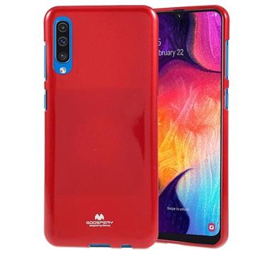 Mercury Goospery Jelly Samsung Galaxy A50 TPU Case - Red