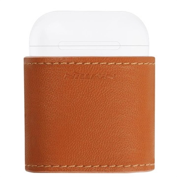 Nillkin Mate Apple AirPods / AirPods 2 Qi Wireless Charging Case - 0.6A - Brown