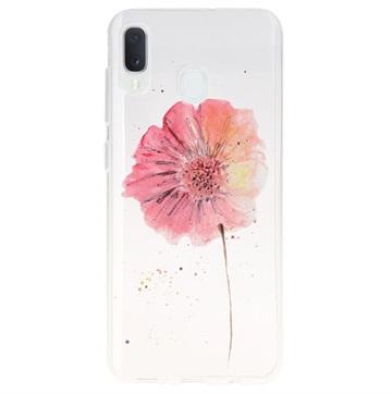 Samsung Galaxy A20e Ultra-Slim TPU Case - Flower