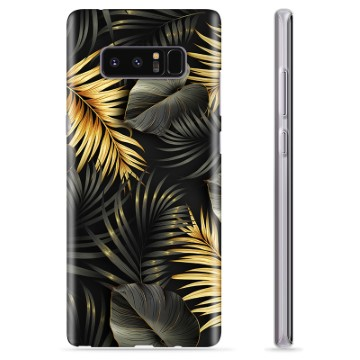 Samsung Galaxy Note8 TPU Case - Golden Leaves
