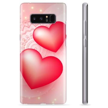 Samsung Galaxy Note8 TPU Case - Love