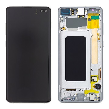 Samsung Galaxy S10+ Front Cover & LCD Display GH82-18849B - White